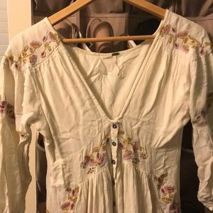 Flowy hippy free people dress